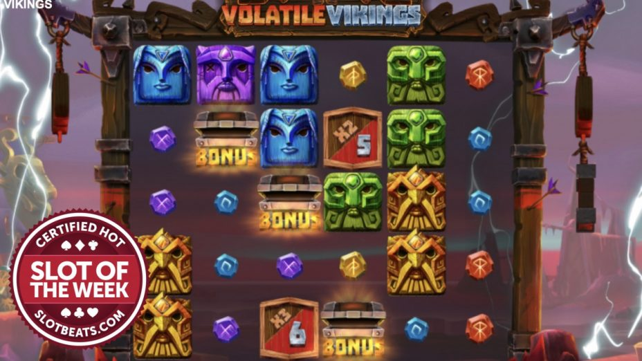 Ragnarok prevails in Relax Gaming's all-new Volatile Vikings slot as it once again claims SlotBeats' Slot of the Week award.